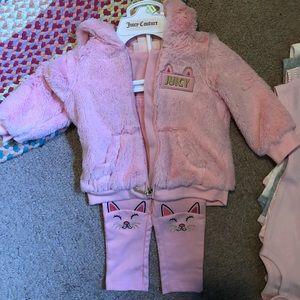 Juicy baby sweatsuit